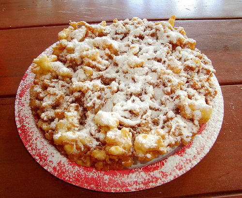 Disney Food Confession – Funnel Cake