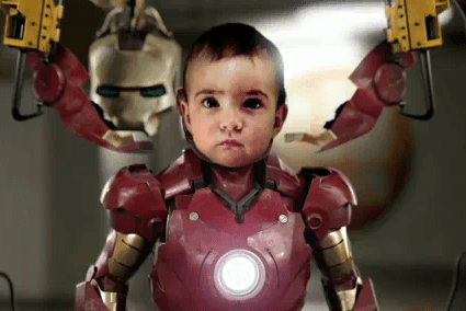 Marvel's Newsest Movie – Iron Baby