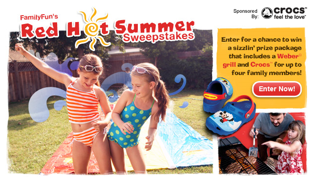 Disney's Family Fun Red Hot Summer Sweepstakes