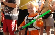 Disney Pic of the Day - Young Jedi in Training