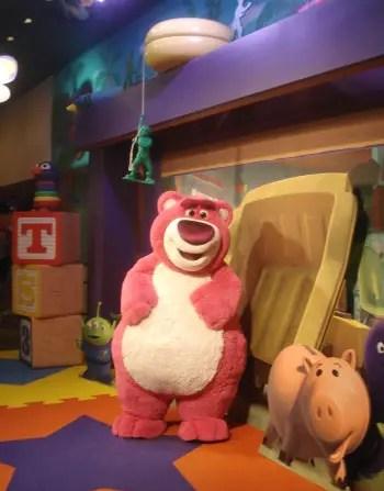 Meeting Lotso at Disney's Hollywood Studios
