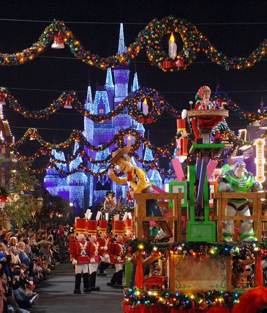 Top 10 Holiday Experiences at Disney World