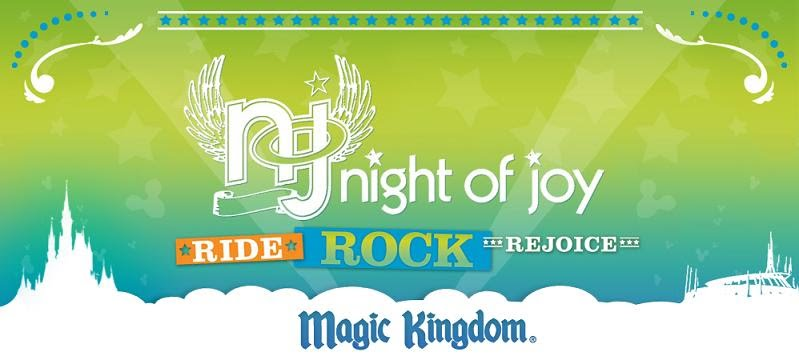 Disney's Night of Joy 2015: Entertainment Schedule at Walt Disney World Resort