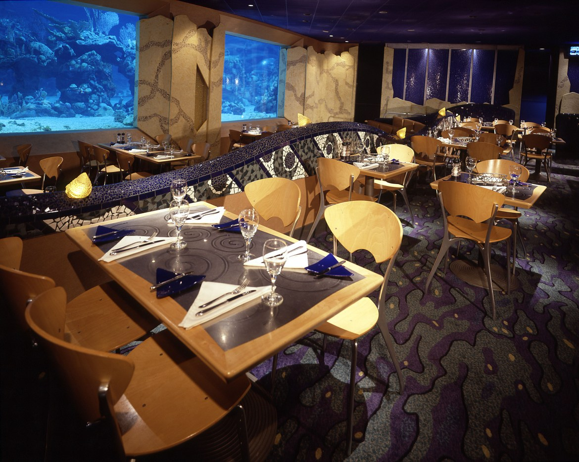 Seven New Dishes Added to the Menu at Coral Reef in Disney's Epcot