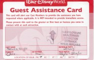 New Disability Access Service Card Now Available at Disney World and Disneyland