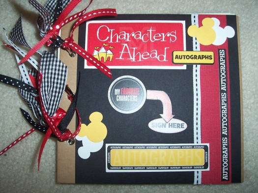 How to make your own Disney Autograph Book