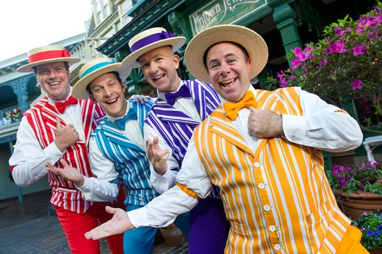 Dapper Dans Return to Disney World for 'Limited Time Magic'