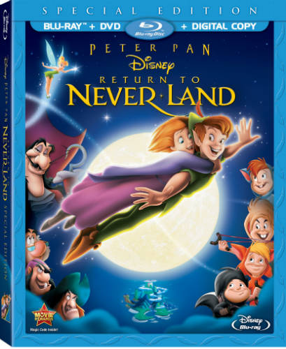 Review of Return to Neverland Blu-Ray/DVD