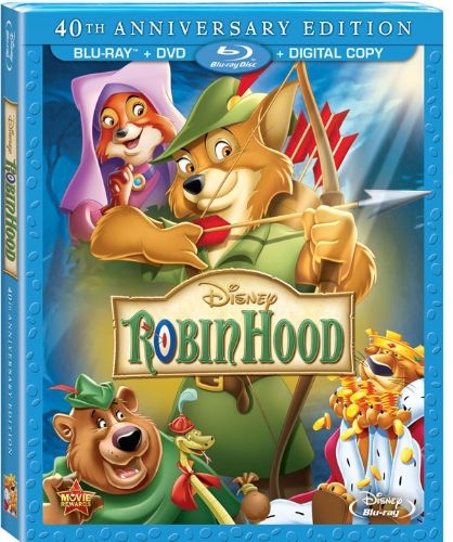 Disney's Robin Hood Bluray Review