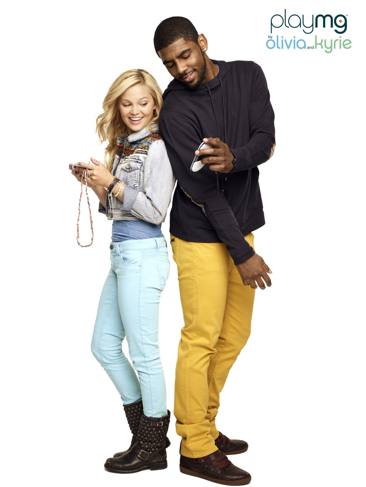 NBA Star Kyrie Irving and Disney actress Olivia Holt partner with PlayMG