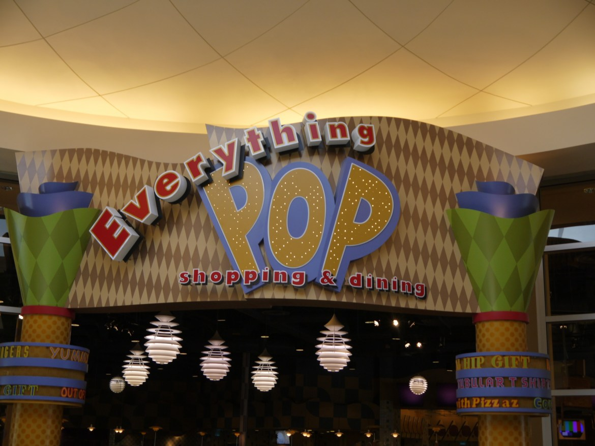 New Menu at Everything POP Food Court at Disney's Pop Century Resort