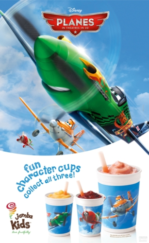 """Soar with """"Disney Planes"""" and Jamba Juice"""