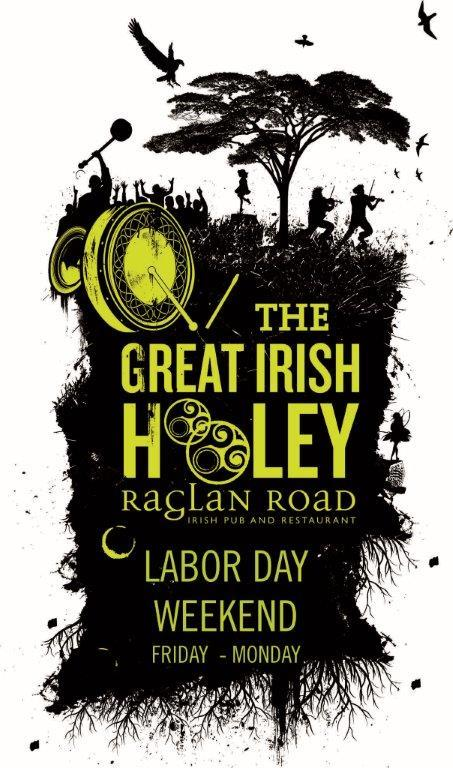 A Great Irish Hooley at Raglan Road Irish Pub Labor Day Weekend