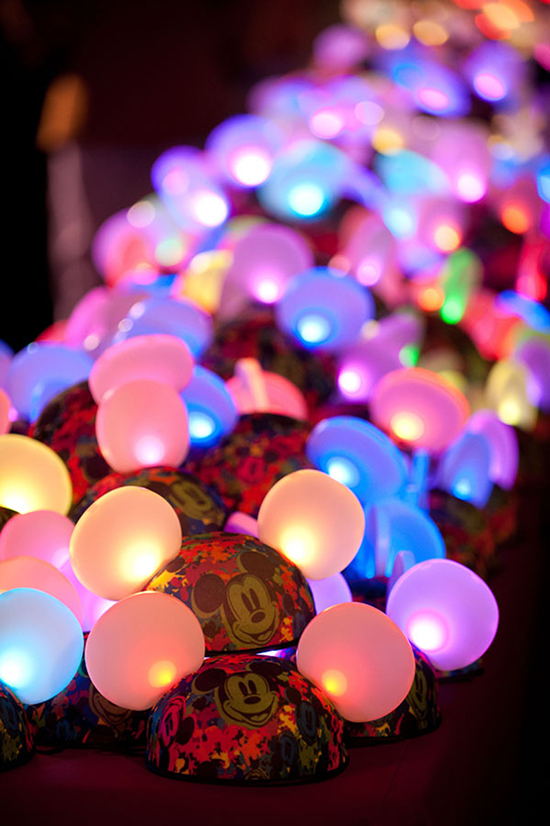 New Glow With the Show Mickey Ears Let Guests Shine at Walt Disney World Resort