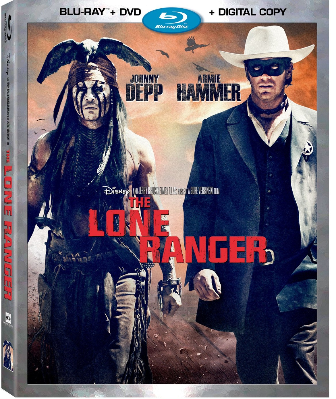 The Lone Ranger coming to Blu-ray/DVD December 17th