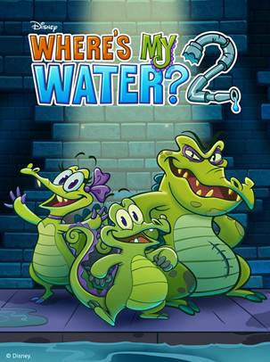 Disney's Where's My Water 2 Now Available