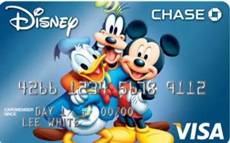 Disney Park Perks with a Disney Visa Card