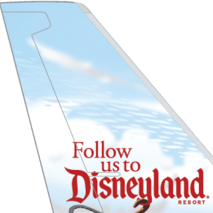 Alaska Airlines to Unveil Disneyland Themed Plane