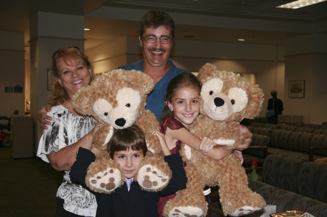 Adorable Duffy the Disney Bear Bring Smiles to Adopted Children