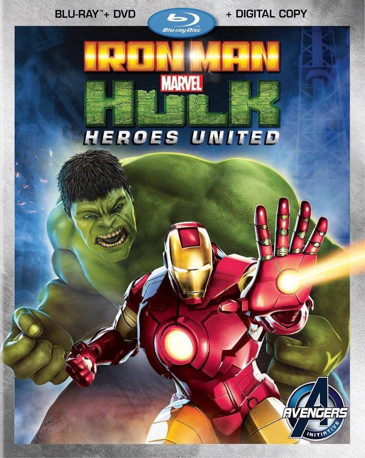Iron Man & Hulk: Heroes United Coming to Blu-ray on December 3, 2013