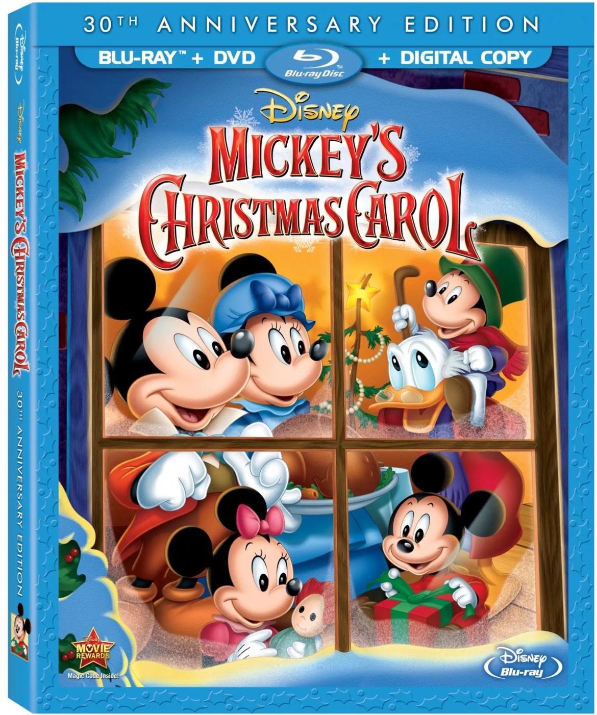Mickey's Christmas Carol Coming To Blu-Ray On November 5th