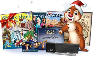 D23 Holiday Gift Guide
