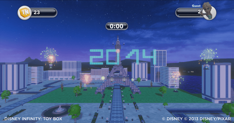 Disney Infinity 2014 Fireworks Challenge