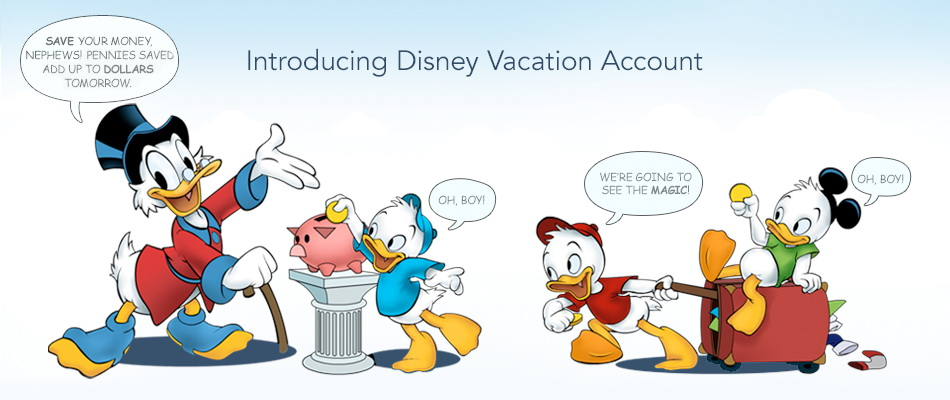 Disney Vacation Savings Account is Now Available