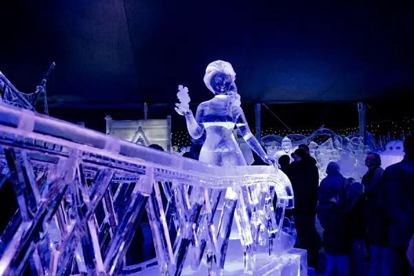 Frozen Ice Sculptures 2