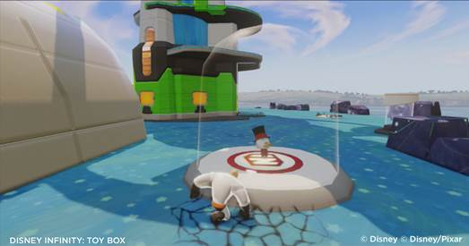 Duck Tales Themed Toy Box for Disney Infinity