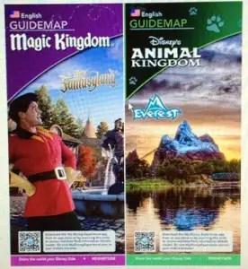 New Walt Disney World Theme Park Maps Coming Soon