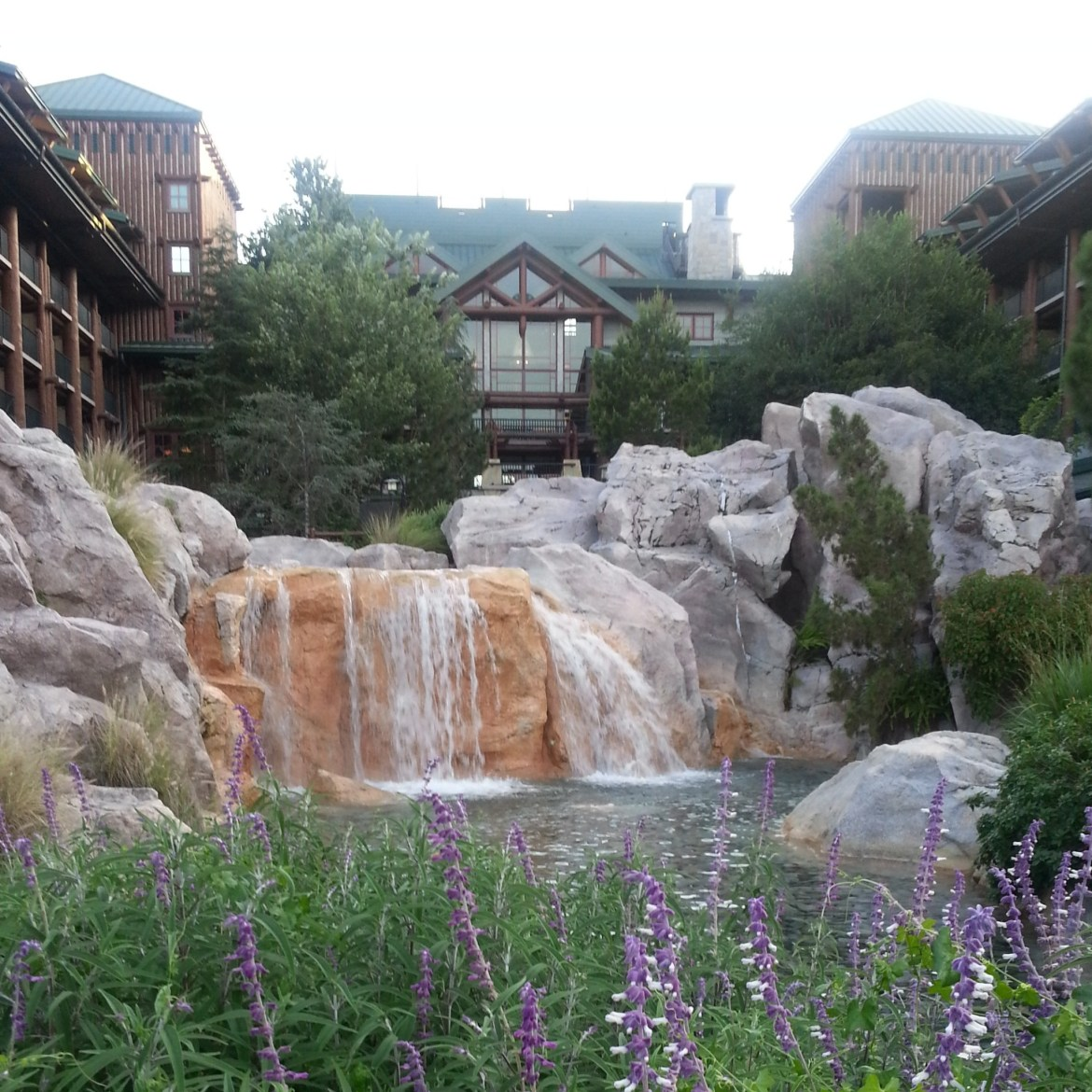 Taking time to visit Disney's Wilderness Lodge