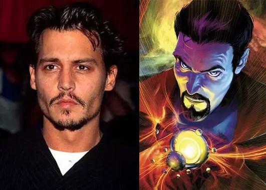 Marvel Courting Johnny Depp to Play Doctor Strange