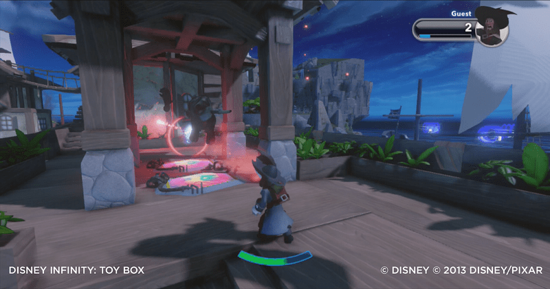 "Five New Disney Infinity ""Pirates Adventure"" Toy Boxes"