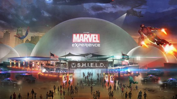 First Photo of the Marvel Experience Road Show Revealed