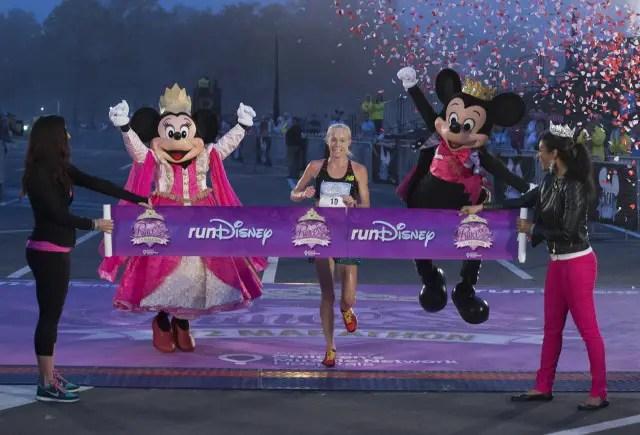 Kim Smith Shatters Disney Princess Half Marathon Course Record