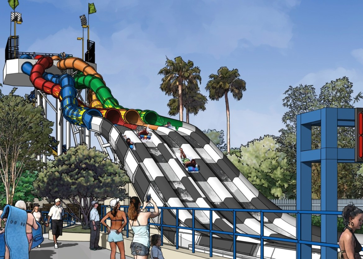 Aqua Drag Racer announced from Wet n' Wild Orlando