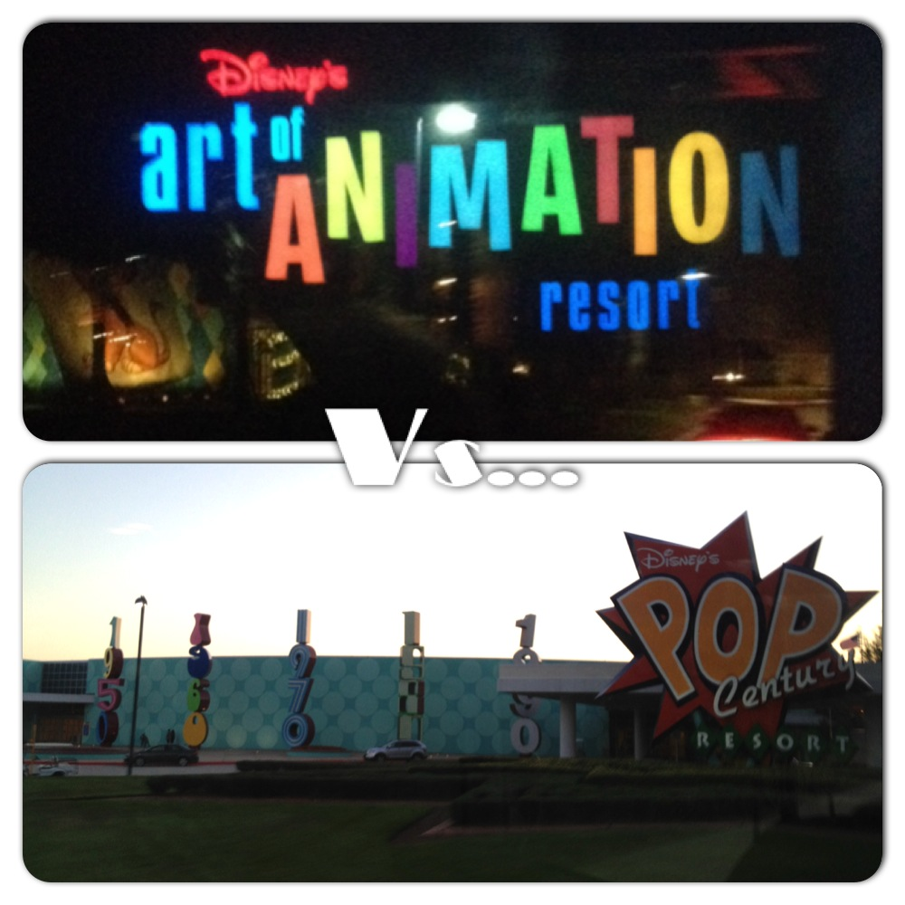 Battle Of The Resort Quick Service Disney Dining: Art Of Animation Vs. Pop Century