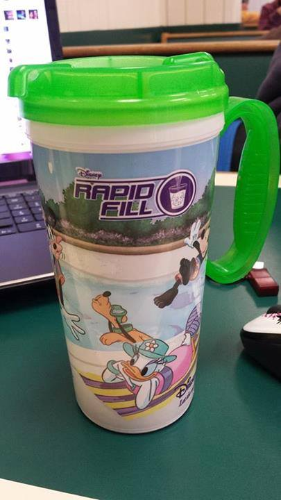 Disney World's Rapid Fill Secure Refillable Mugs is a big Failure
