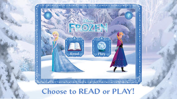 """Celebrate Your Love for """"Frozen"""" with Frozen's Storybook Deluxe App and Products"""
