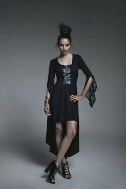 Maleficent Corset Hi-Lo Dress x $52.50