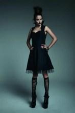 Maleficent High-Collar Dress x $54.50