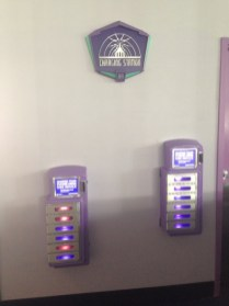Cosmic Ray's Charging Station