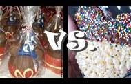 Disney Parks' Candy Apple vs. Rice Crispy Treat