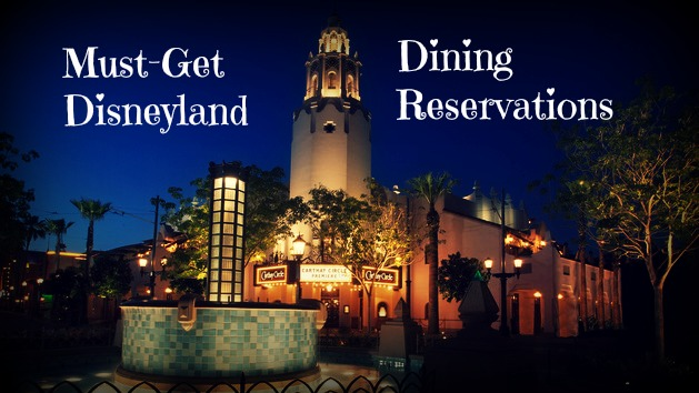 Disneyland Paris Restaurant Reservations Online