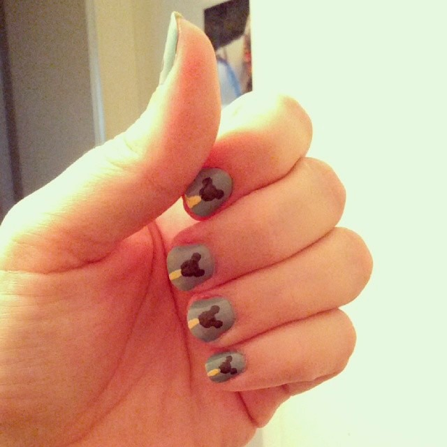 Show Your Disney Side: Nail Art Edition