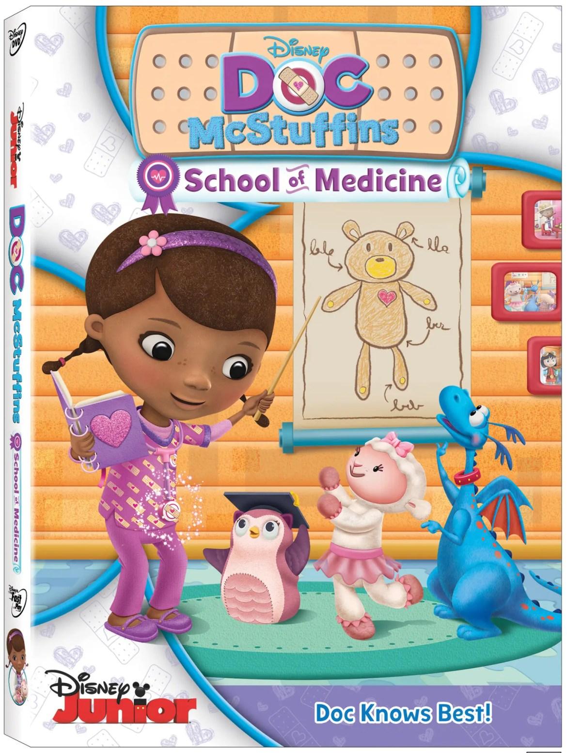 New on DVD, Doc McStuffins: School of Medicine
