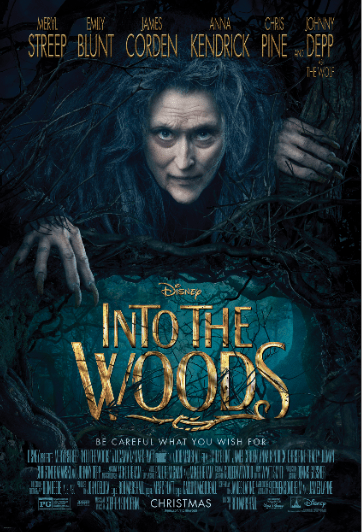 "Disney's ""Into the Woods"" coming to Bluray & DVD!"
