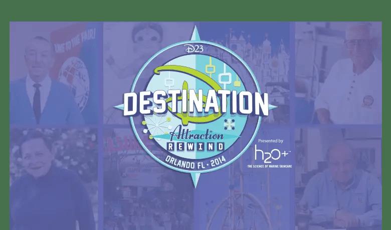 Disney Legend Tony Baxter and a Tomorrowland Sneak Peek Added To Destination D: Attraction Rewind At Walt Disney World Resort November 22–23