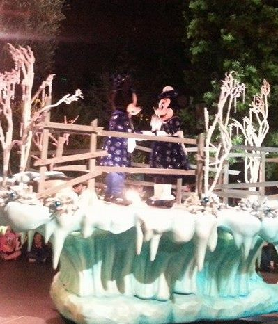 Changes to Disneyland Christmas Parade this year?